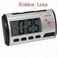 Spy Camera Table Clock 8 GB Micro SD Card
