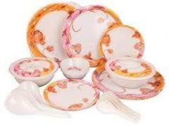 Premium Quality Melamine Dinner Set 32 Pcs - Home & Kitchen