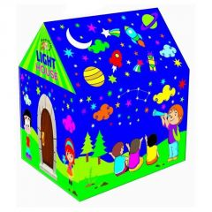 Big Huge Cottage Tent Style House For Children With LED Light