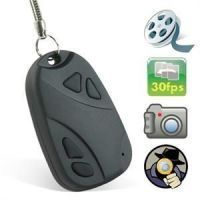 Keychain Spy Cam Camera Video Audio Hidden Recording Key Chain