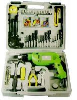 Shop or Gift 100 PCs Toolkit With Powerful Drill Machine Set Online.