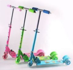 Zeemon LED Tyres Tricycle Cycle Scooter For Kids