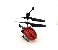 Shopmefast Mini Rc 2ch Radio Control Micro Motor Helicopter For Kids - Red