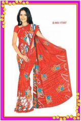 Shop or Gift Exclusive Daily Wear Printed Saree - 17387 Online.