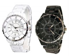 Gift Or Buy Very Stylish Couple Watch Set Buy 1 Get 1 Free