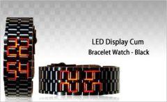Shop or Gift LED Bracelet Cum Wrist Watch   Free Led Earpick MFLEDBL1 Online.
