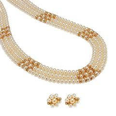 Shop or Gift Mother Day Gift New Design Stylish Pearl Set Online.
