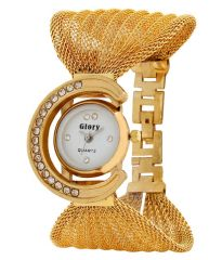 GLORY GOLDEN FANCY JAAL LADIES WATCH