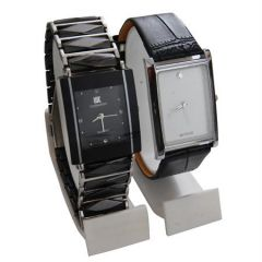 Shop or Gift New 2 Stylish Leather & Steel Watch mfpw3620129 Online.
