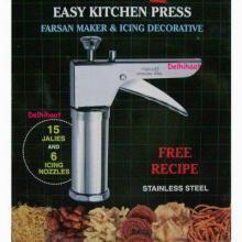Farsan / Bhujia Maker And Icing Kitchen Press