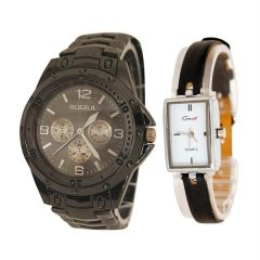 Shop or Gift Rosra Men's Watch with Free Genx Women's Watch Online.