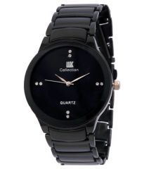 Gift Or Buy IIK COLLECTION Black Analog Watch