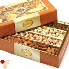Bhaidooj Dryfruits - Ghasitaram's Dryfruit Box 200 Gms