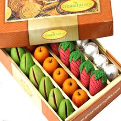 Sugar Free Mithai - Sweets-Ghasitaram Gifts Sugarfree Fruit Box