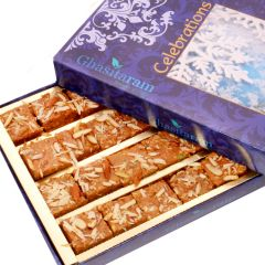 Mother's Day Gifts   Chocolates & Mithais - Mothers Day Sweets-Nani's Special Besan Barfi