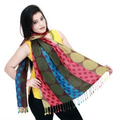 Mother's Day Gifts - Mothers Day Gifts-Multicoloured Scarf- gg003
