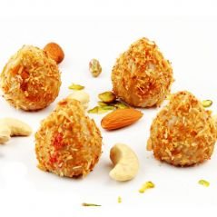 Sweets-Ghasitaram's Sugarfree Kaju Butterscotch Modak