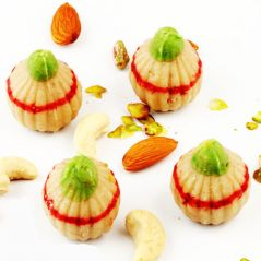 Ghasitaram''s Sugarfree Kaju Ring Modak