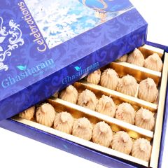 Sweets-Ghasitaram's Wheat Dryfruit Modak