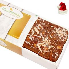 Christmas Gifts Mithai Cake -Chocolate Fudge