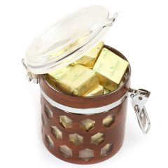 Premium Air Tight Wooden Acrylic Chocolates Container