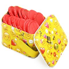 Sugafree Chocolates-Smiley Chococlates in Smiley Tin Box