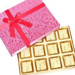 Sweets-Pink 12 pcs Assorted Mewa Bites Box