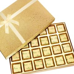 Sugarfree Chocolates- Golden 24 pcs Assorted Sugarfree  Chocolates Box