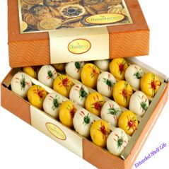 Mother's Day Gifts   Chocolates & Mithais - Mothers Day Sweets-Ghasitarams Mawa Sugarfree Peda Box