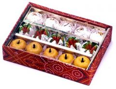 Sweets-Ghasitaram Gifts SugarFree Fancy Mix sweets
