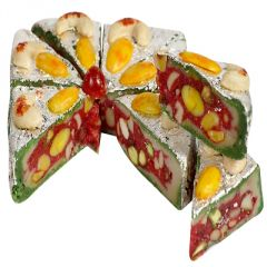Sweets-Ghasitarams Pista Anjeer Dryfruit Mithai Cake