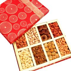 Dryfruits - Satin 8 part Dryfruit Box