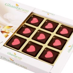 Red Hearts Chocolate Box