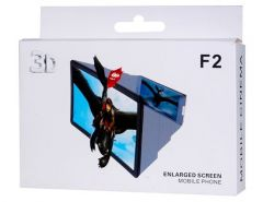 F2 Mobile Phone 3d Screen Magnifier 3d Video Screen Amplifier Eyes Protecti