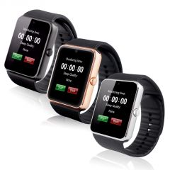 Snaptic Gt08 Sim And Memory Card Enabled Smart Watch With Hidden Camera - Watches & Smartwatches