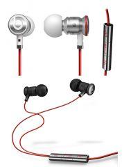 HTC OEM Beats Audio Monster Stereo Handsfree Kit Set of 2(Black & White)