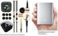 Shop or Gift OEM Mi Xiaomi 10400mah Power Bank & Get Xioami 3.5mm Earphones Free Online.