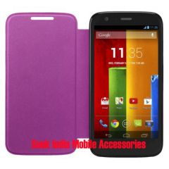Shop or Gift Hi Grade Flip Cover for Motorola Moto X (Pink) Online.