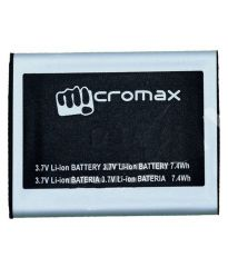 Micromax Bolt Q326 Li Ion Polymer Replacement Battery by Snaptic