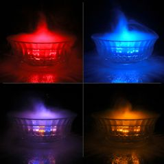 12 LED Mist Maker Fog Machine Water Fogger Fountain Pond Light - 01