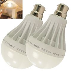 Set of 2pcs 15w High Power Led Bulb For Pure, White, Cool, Safe Light - 03
