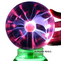 3.5 inch Plasma Light Lamp Plasma Lamp Ball Finger Touch Glow Laser -03