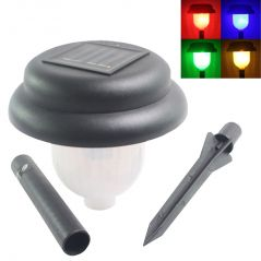 Solar Powered Rechargeable LED Lawn Garden Light Lamp Waterproof - 03