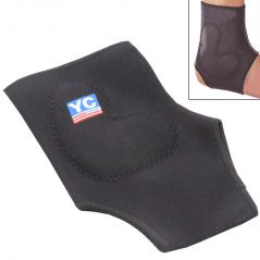 Leg Ankle Support with Silicone Pad Muscle Joint Protection Sports Guard Gym -06
