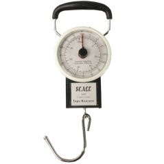 35KG Portable Fish Hook Hanging Spring Weight Weighing Scale - 06