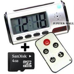 Optics - Hidden Spy Camera Video Camera Table clock -02
