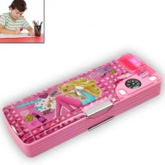 KIDS MULTI PURPOSE PENCIL Pen CASE Storage BOX Holder sharpener Pouch -103