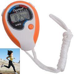 Professional Digital Quartz Timer Digital Stop Watch Alarm Clock Time Date - 14