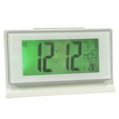 Voice Control Sound Sensor Calendar Alarm Table Clock Thermometer Timer-188