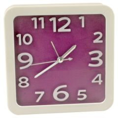 Exclusive Fashionable Table Desk Clock Watches With Alarm - 194